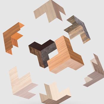 抗菌木紋冰火板